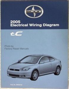 electrical wiring diagrams 2005 scion tc