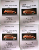 2007 Dodge Caliber Factory Service Manual 4 Volume Set Dealer Shop Repair