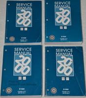 Service Manual 2000 Chevrolet GMC G Van Volume 1, 2, 3, 4