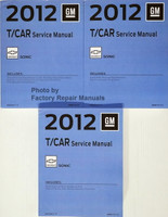 2012 GM T/Car Service Manual Chevrolet Sonic Volume 1, 2, 3