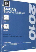 2010 GM SA Car Chevrolet Aveo, Pontiac G3 / Wave Service Manual Volume 1, 2, 3