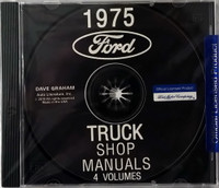 1975 Ford Truck Shop Manuals 4 Volumes