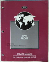 Ford 1997 Probe Service Manual