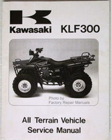 1986 1987 KAWASAKI BAYOU 300 ATV Factory Service Manual KLF300-A1 A2 Shop Repair