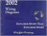 2002 Ford Explorer Sport Trac and Explorer Sport Electrical Wiring Diagrams Manual