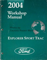 2004 Ford Workshop Manual Explorer Sport Trac