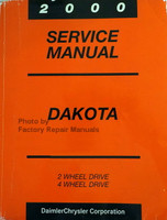 2000 Dodge Dakota Pickup Factory Service Manual Original Shop Repair