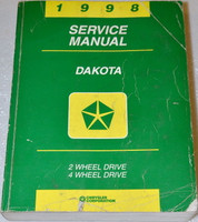 1998 Dodge Dakota Pick-up Factory Service Manual - Original Shop Repair