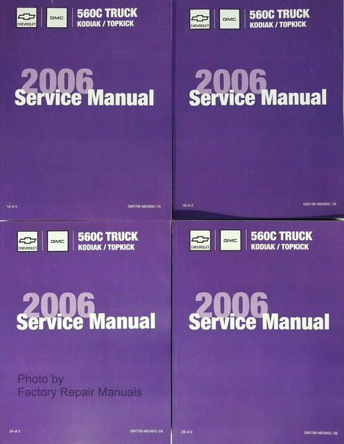 2006 Chevrolet Kodiak GMC TopKick Factory Service Manual Set ... on gmc drawings, gmc wiring color codes, gmc engine, gmc trailer wiring, gmc truck wiring harness, 83 gmc pickup schematics, gmc schematic diagrams, gmc yukon fuel pump diagram, gmc truck schematics, 2000 gmc jimmy fuel pump schematics, 2005 gmc power distribution schematics, gmc headlights, chevrolet truck schematics, gmc truck fuse diagrams,