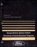 escape hybrid, mariner hybrid powertrain control/emissions diagnosis 2009  service manual