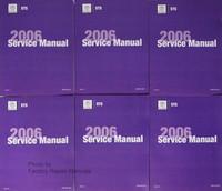 Cadillac CTS 2006 Service Manual Volume 1, 2, 3