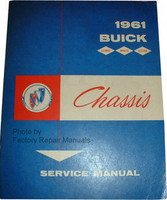 1961 Buick Chassis Service Manual