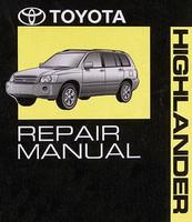 2006 Toyota Highlander Repair Manual Volume 1, 2, 3, 4