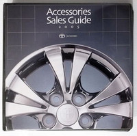 2005 Toyota New Car Accessories Master Catalog Part #s Tundra 4Runner Tacoma BIG