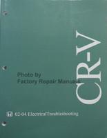 2002-2004 Honda CR-V Electrical Troubleshooting Manual