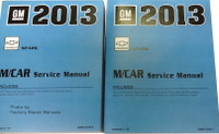 2013 Chevy Spark Factory Service Manuals
