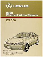 2000 Lexus ES300 Electrical Wiring Diagrams - Original ES 300 Manual