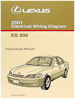 2001 Lexus ES300 Electrical Wiring Diagrams - Original ES 300 Manual