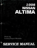1998 Nissan Altima Service Manual