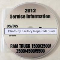 2012 Service Information Dodge RAM Truck 1500 / 2500 / 3500 / 4500 / 5500