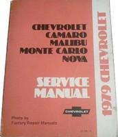 1979 Chevrolet Camaro Malibu Monte Carlo Nova Service Manual
