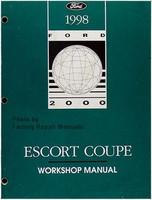 1998 Ford Escort ZX2 Coupe Factory Service Manual - Original Shop Repair