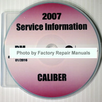 2007 Service Information Dodge Caliber
