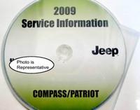 2009 Jeep Patriot & Compass Factory Service Manual CD-ROM Original Shop Repair