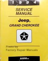 1994 Service Manual Jeep Grand Cherokee