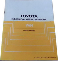 Toyota Electrical Wiring Diagram Van 1986 Model