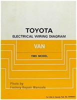 Toyota Electrical Wiring Diagrams Van 1989 Model