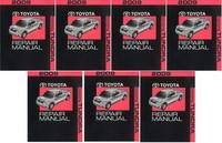 2009 Toyota Tundra Factory Service Manual 7 Volume Set - Original Shop Repair