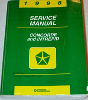 1998 Service Manual Concorde and Intrepid Chrysler