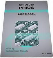 2007 Toyota Prius Electrical Wiring Diagrams - Original Shop Manual