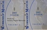 Lincoln 2005 Aviator Workshop Manual Volume 1, 2
