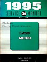 1995 Service Manual Geo Metro
