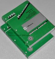 1996 Chevrolet Geo Metro Factory Service Manual Set - Original Shop Repair