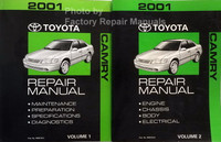 2001 Toyota Camry Repair Manual Volume 1 and 2