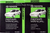 2000 Toyota Camry Repair Manual Volume 1 and 2