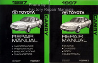 1997 Toyota Camry Repair Manuals Volume 1 and 2