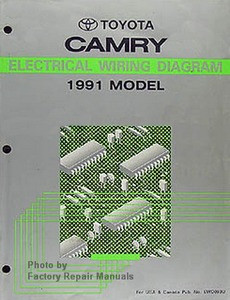 toyota camry electrical wiring diagrams 1991 model