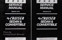 2005 Service manual PT Cruiser & Convertible Volume 1, 2