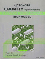 toyota camry hybrid electrical wiring diagrams 2007 model