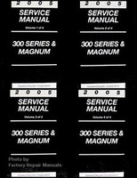 2005 Chrysler 300 300C Dodge Magnum Factory Service Manual Set Original Repair