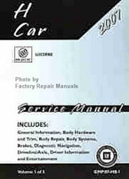 2007 H Car Buick Lucerne Service Manual Volume 1, 2, 3