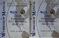 Ford 2005 Freestyle, Five Hundred, Montego Workshop Manual