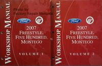 Ford Mercury 2007 Freestyle, Five Hundred, Monterey Workshop Manual Volume 1, 2