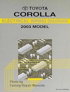 2003 toyota corolla factory service manual