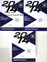2014 GM Chevrolet Captiva Sport Service Manual Volume 1, 2, 3