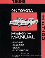1996 Toyota T100 Truck Factory Service Manual Set - Dealer Shop Repair